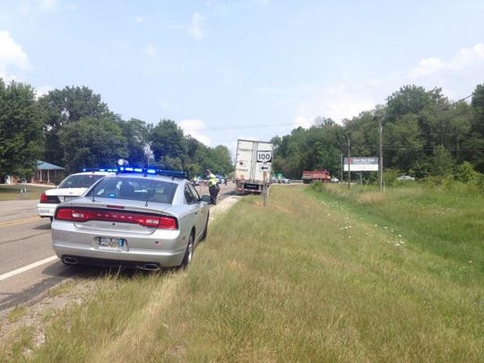 Police are on the scene of a fatal crash at the intersection of Ohio 309 and Ohio 100.