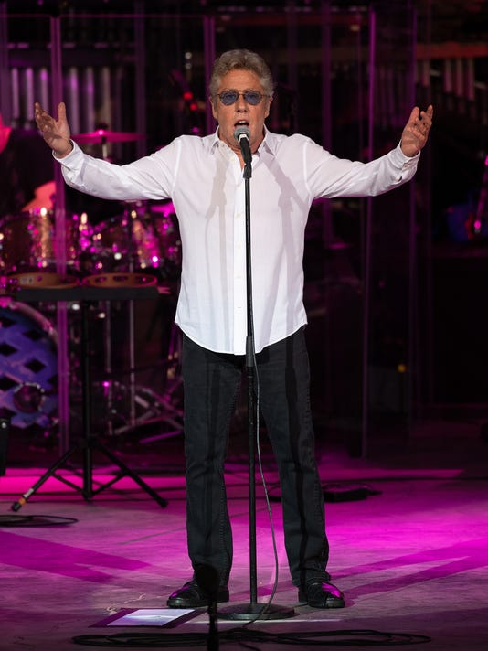 "Roger Daltrey performs""Tommy"" at Bethel Woods Center for the Arts on June 8, 2018, the opening night of the tour."