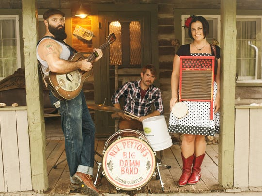 Reverend Peyton's Big Damn Band will play a Love it