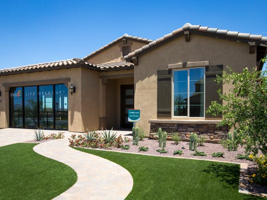 Luxury homes for less in west valley communities for Shea custom home plans