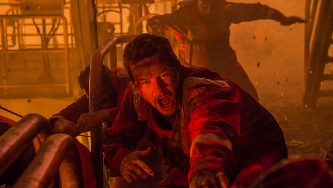 """Mark Wahlberg in a scene from """"Deepwater Horizon."""" The movie opens Thursday at Regal West Manchester Stadium 13, Frank Theatres Queensgate Stadium 13 and R/C Hanover Movies."""