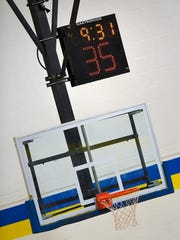 Players have to watch the shot clock mounted above