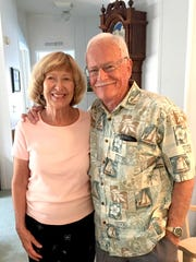 Ann and Bill Blaisdell at their home in south Indian River County.