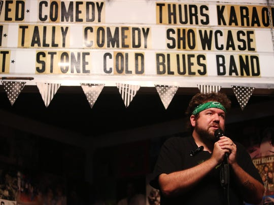 Bird's Aphrodisiac Oyster Shack on Bronough St. offers stand-up on Wednesdays and karaoke on Thursdays.