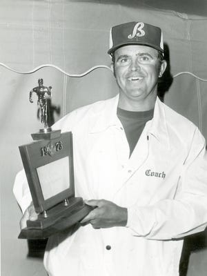 Former Bearden High School track and field coach Bob LeSueur in 1973.