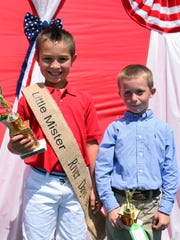 River Day's Little Mr. River Days – Braxton Garrett and 1st Runner up,  Jaxon Hansbrough