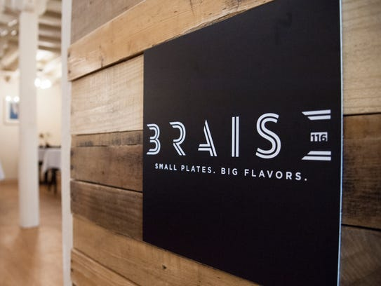 Braise gets points for its romantic atmosphere.