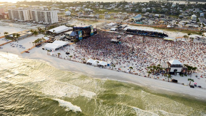 Music fans flock to Gulf Shores, Ala., for Hangout Music Fest.