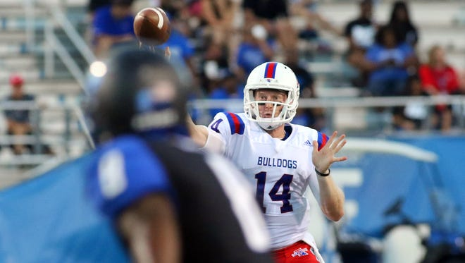 Louisiana Tech quarterback Ryan Higgins has thrown for more than 1,200 yards in just three games this year.