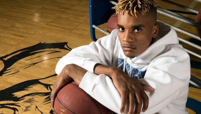 Michael Randolph, Jr. is making his mark with the Washington High School basketball team this year.