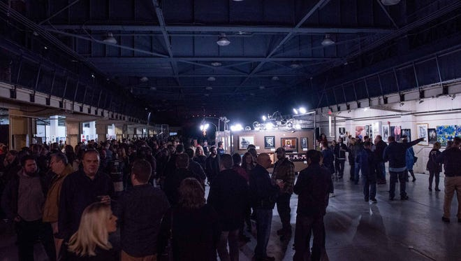 The Dirty Show returned to The Russell Industrial Center Feb.10, 2018. The sold-out event featured an International Erotic Art Exhibition, burlesque performances and a wide variety of erotic entertainment, local cuisine and libations.