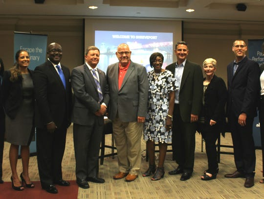 City officials and business leaders met with representatives