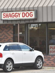 """""""After ... years of dedicated service, Shaggy Dog grooming"""