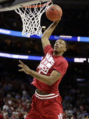 IU forward Troy Williams is trying to impress NBA teams at this week's combine.