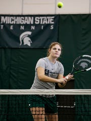 MSU chemical engineering freshman Julia Fenn from Sheridan,