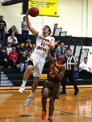 Cedar Grove senior Mike Pronesti scored a team-high 25 points in a win over Weequahic.