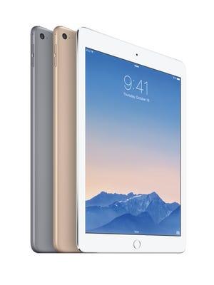 Apple's iPad Air 2 tablets.
