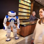 Hilton Worldwide is experimenting with a robot concierge named Connie.