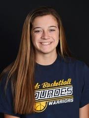 Madison Siegrist, Lourdes Girls Basketball