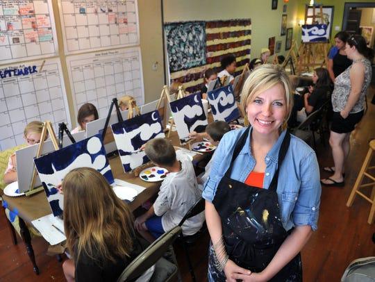 Rachel Liles will teach a teen painting class June