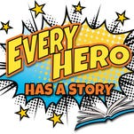 Every Hero Has a Story- Summer Reading Program at Phoenix Public Library.
