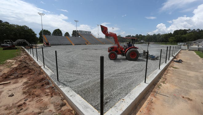 Gene Cox Stadium is undergoing renovations with an anticipation of a fall 2018 completion in time for the upcoming Leon County Schools football season.