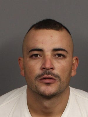 Jesus Martinez was arrested after a nearly six-hour standoff early Monday. He was booked into Riverside County Jail on suspicion of assault with a deadly weapon, criminal threats, domestic battery and possession of a drug for sale. Photo courtesy of the Indio Police Department.