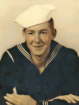"Lt. Cmdr. W.L. ""Babe"" Crouch dedicated his life to Navy service and training cadets. A memorial service to honor his life will be on Saturday aboard the Lexington Museum on the Bay."