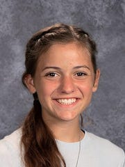 Leah Daly, who is 16, is in her fourth season playing for the Brockport varsity lacrosse team.