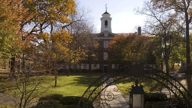 Rutgers' Old Queens is the university's oldest building and home to the office of its president.