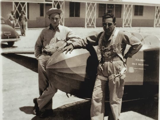Glider mechanics kept the planes flying at the Twentynine Palms Air Academy at Condor Field during World War II.