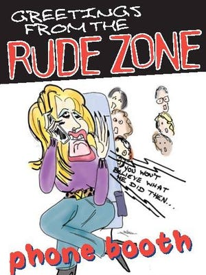 """NJ Transit has launched """"Greetings from the Rude Zone,"""" a six-week customer courtesy campaign."""