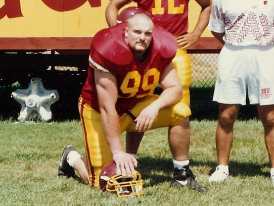 Dan Quinn (99) was was inducted into the Salisbury