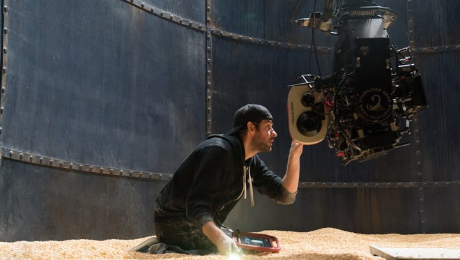 """Director, writer, executive producer and actor John Krasinski on the set of """"A Quiet Place"""" from Paramount Pictures. This film was made in Dutchess and Ulster counties."""