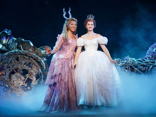 "Rodgers + Hammerstein's ""Cinderella"" combines the story's"