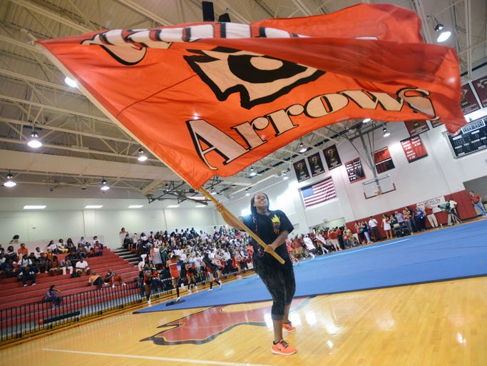 Clinton High School gets fired up for tonight's home game against Ridgeland with a raucous morning pep rally in the school's gym.