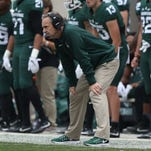 Michigan State football's Mark Dantonio continues to dodge questions