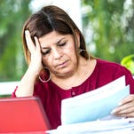 Hidden debt makes wife want to run and hide