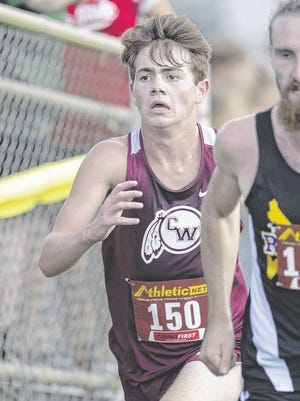 Senior Ian Lewis is among the top returnees for the Canal Winchester boys cross country team.