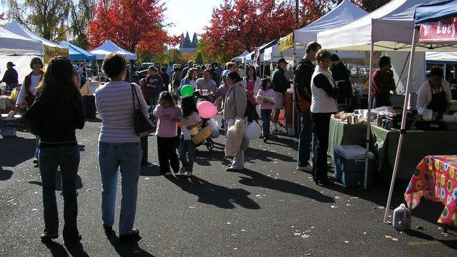 The Salem Saturday Market runs every Saturday from April through October.