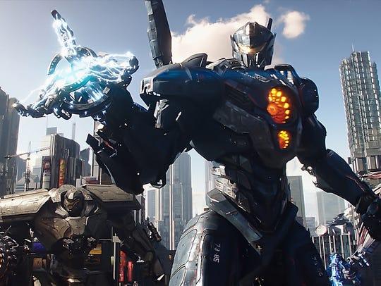 Gipsy Avenger leads the super-mech Jaegers against