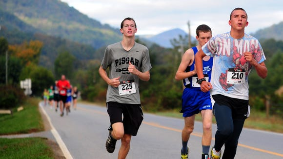 Runners take part in a past Bethel Half Marathon. The race, which includes a 5K, is Saturday, Oct. 10, near Canton.