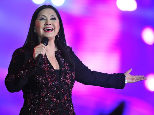 The Mexican recording artist Ana Gabriel will perform April 4 in El Paso.