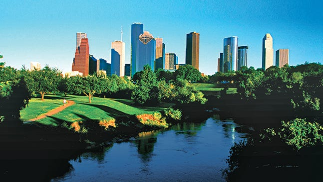 Over the last year, according to the Bureau of Labor Statistics, employment in Houston rose 4.3 percent.