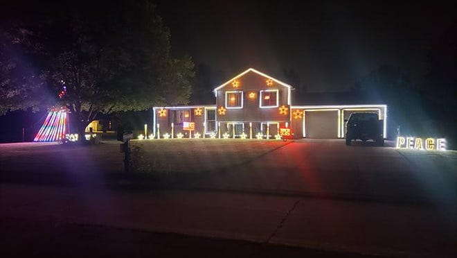 The Holiday on Wildflower house is having a special music light show for the 4th of July holiday.