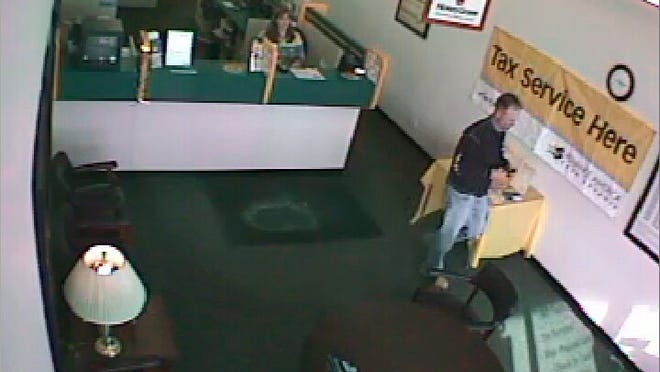 Coralville police are asking for the public's help in identifying a man they say robbed Advance America Friday afternoon.