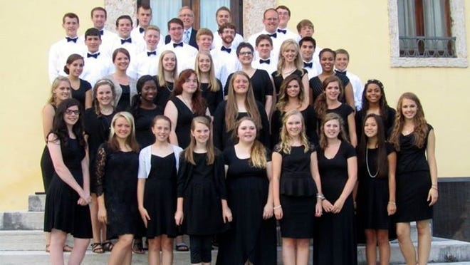 The Jackson Christian High School Chorus sang at a festival in Italy last month.