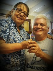 """This photo was submitted by Vickie Torres Pando, """" Yolanda & Willie Torres, happily married 40+ years. All you need is love."""""""
