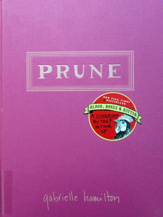 Prune cookbook review