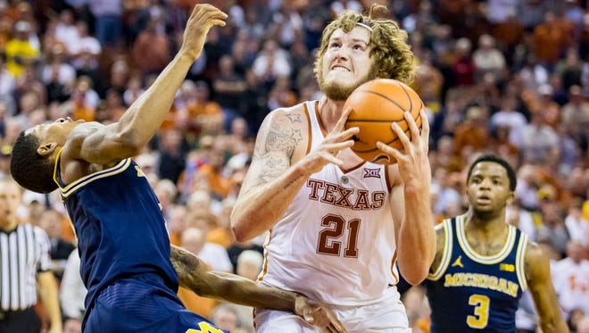 Texas remains fairly high on my top 25 ballot despite a loss to Michigan last week. The Longhorns were playing their first game without their injured leading scorer.